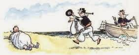 Image result for AA Milne shipwrecked sailor